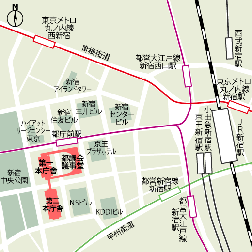 交通のご案内MAP2