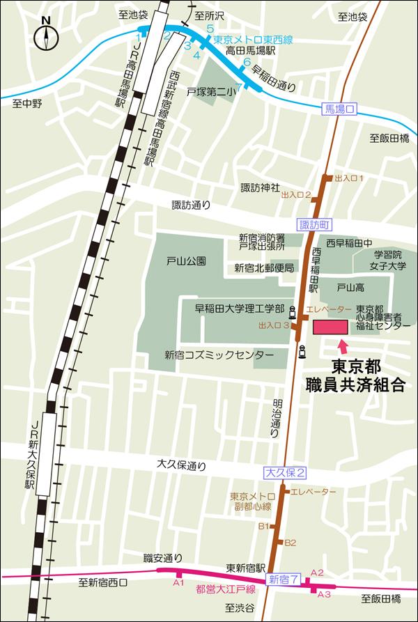 交通のご案内MAP